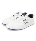 ニューバランス NEW BALANCE スニーカー AM424WTN レザー 白 紺 ホワイト ネイビー 28 シューズ 靴 ■SM