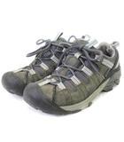 キーン KEEN ターギー 防水 ハイキング トレッキング シューズ グレー系 26 靴 ■SM