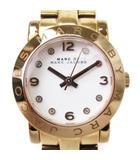 マークバイマークジェイコブス MARC by MARC JACOBS 腕時計 アナログ クォーツ ラウンド MBM3078 ピンクゴールド系 ☆AA★