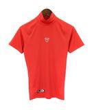 アンダーアーマー UNDER ARMOUR アンダーシャツ ヒートギア アーマーコンプレッション 半袖 モック カットソー 半袖 ベースボール MBB2163B 赤 レッド MD