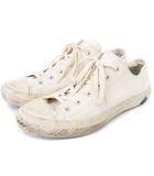 ムーンスター MoonStar シューズライクポタリー スニーカー キャンバス ローカット 白 ホワイト系 25 靴 ■SM