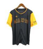 アンダーアーマー UNDER ARMOUR 読売 ジャイアンツ GIANTS ベースボール シャツ 野球 ウエア 黒 ブラック オレンジ