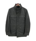 シーケーカルバンクライン ck Calvin Klein M-65 ジャケット ブルゾン ジャンパー スタンドカラー 黒 ブラック 34 アウター