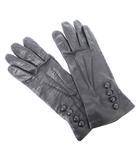 デンツ DENTS 手袋 グローブ 5本指 レザー 黒 ブラック 7