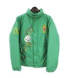 ポロ バイ ラルフローレン Polo by Ralph Lauren ダウンジャケット 長袖 プリント 緑 グリーン 170 アウター IBS76