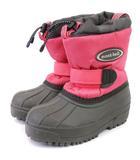 モンベル Montbell パウダーブーツ スノーブーツ 401-510237 ピンク グレー系 18 靴