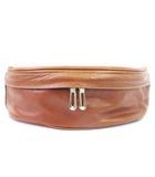 アニアリ aniary ボディバッグ ショルダー アイディアルレザー 牛革 NL-07-01 茶 ブラウン 鞄