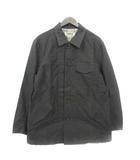 カンサイジーンズ KANSAI JEANS ジャケット ブルゾン ステンカラー シャツ 襟 グレー M 180226 アウター
