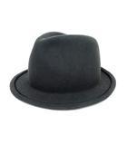 ブルーブルー BLUE BLUE ハット 帽子 ウール 中折れ帽 ソフトハット 2 グレー ※Y