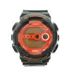 カシオジーショック CASIO G-SHOCK GD-100HC Hyper Colors ハイパーカラーズ クォーツ ブラック オレンジ
