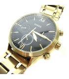 フォッシル FOSSIL 腕時計 ウォッチ クォーツ クロノグラフ BQ2366 ゴールド