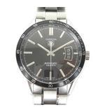 タグホイヤー TAG HEUER カレラ WV211M 腕時計 オートマティック 自動巻き 黒文字盤 3針 ブラック シルバー
