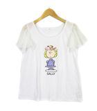レトロガール RETRO GIRL × PEANUTS ピーナッツ カットソー Tシャツ 半袖 シフォンスリーブ SALLY プリント M 白