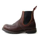 レッドウィング REDWING 02917 CHELSEA ブーツ サイドゴア ブラウン 茶 5.5 E2 IBS41