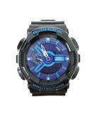 カシオジーショック CASIO G-SHOCK GA-110HC 腕時計 ウォッチ クォーツ アナデジ ブラック パープル