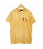 デウスエクスマキナ DEUS EX MACHINA Tシャツ カットソー ロゴ イエロー S ■NY