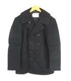 ショット SCHOTT U.S. 740N PEA JACKET Pコート ウールジャケット ダブル ブラック 黒 42