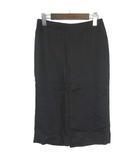 ミューズ MUSE de DEUXIEME CLASSE スカート ペンシル タイト ミモレ ロング ブラック  1■VG0