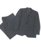 コムデギャルソンオムドゥ COMME des GARCONS HOMME DEUX セットアップ スーツ 2B 背抜き ツータック パンツ スラックス 黒 ブラック S M DJ-21002S