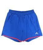 アディダス adidas ショートパンツ ランニング トレーニングウェア ブルー 青 S■VG