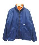 ザノースフェイス THE NORTH FACE 90s リバーシブルジャケット ナイロン ボア ブルー オレンジ L NP16120 ■VG
