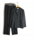 23区 オンワード樫山 セットアップ パンツ スーツ 36 グレー ■VG