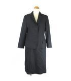 ロイスクレヨン Lois CRAYON スーツ セットアップ スカート 3B 総裏 シングル チャコールグレー 38