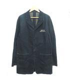 グランドキャニオン GRAND CANYON ジャケット コート デニム ロング 刺繍 ロゴ インディゴブルー L