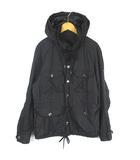 タトラス TATRAS MTK7NU433 M-65 ジャケット ナイロン フードイン 黒 ブラック 1 ■IBS68