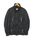 ピューテリー PEUTEREY フィールドジャケット M-65 ナイロン ミリタリー 黒 ブラック S