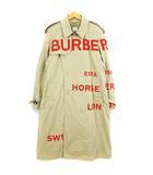 バーバリー BURBERRY 19SS 4558209 ホースフェリー プリント コットンギャバジン トレンチコート ベージュ 50