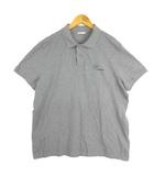 モンクレール MONCLER 19AW ポロシャツ 半袖 ワンポイント ロゴ グレー XXL E20918324450 84556