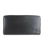 ルイヴィトン LOUIS VUITTON 極美品 M61857 エピ ジッピーウォレット 長財布 ノワール 黒