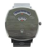 157.3 グリップウォッチ 腕時計 クォーツ メタリックグレー