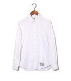 ワコマリア WACKO MARIA WACKO MARIA ワコマリア B.D OXFORD SHIRT 長袖 ボタンダウン ドレス シャツ M WHITE/◆