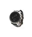 オロビアンコ OROBIANCO OROBIANCO オロビアンコ OR-0014 TEMPORALE テンポラーレ クォーツ 多針アナログ表示 腕時計 ウォッチ ブラック /◆