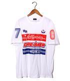 ディーゼル DIESEL 2018SS DIESEL ディーゼル T-JUST-SD T-SHIRT 半袖 プリントTシャツ XL WHITE 春夏 国内正規品 /◆