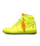 ナイキ NIKE NIKE ナイキ Air Jordan 1 RETRO HIGH OG G8RD Gatorade Cyber エアジョーダン1 レトロ ハイ 26.5 US8.5 Yellow Lime AJ5997-345 /●