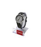 タイメックス TIMEX TIMEX タイメックス WR 30M INDIGLO インディグロ 花柄 ベルト クォーツ 腕時計 ウォッチ グリーン /◆☆
