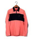 シュプリーム SUPREME 2014SS SUPREME シュプリーム Canvas Pullover Shirt キャンバス プルオーバーシャツ S ハーフジップ アノラック Pink/●