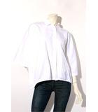 マックスマーラ MAX MARA MAX MARA マックスマーラ ドルマン オーバーシャツ 38 ホワイト 春夏 /◆☆