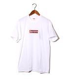 シュプリーム SUPREME 未使用品 2019SS SUPREME × Swarovski 25th Anniversary Box Logo Tee シュプリーム スワロフスキー ボックスロゴ Tシャツ M White 白/●