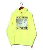 シュプリーム SUPREME 未使用品 2019SS SUPREME シュプリーム Know Thyself Hooded Sweatshirt 2 プルオーバー パーカー M Bright Yellow/●