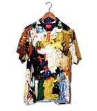 シュプリーム SUPREME 未使用品 2018AW SUPREME シュプリーム × Mike Kelly Love Hours Rayon Shirt 半袖 レーヨンシャツ L Multi/●