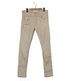 エーゼイ AZ AZ by junhashimoto エーゼイ バイ ジュンハシモト AZB-801 Skinny Pants スキニーパンツ L ベージュ /◆