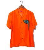 シュプリーム SUPREME 未使用品 2019SS SUPREME シュプリーム The Persistence of Memory Silk S/S Shirt シルク 半袖 シャツ XL Orange/●