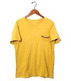 ビズビム VISVIM visvim ビズビム EMBROIDERY POCKET TEE S/S 半袖 ポケットTシャツ 2 マスタード 春夏 /◆