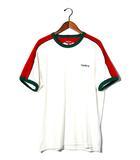 シュプリーム SUPREME 未使用品 2019SS SUPREME シュプリーム Shoulder Stripe Terry S/S Top パイル地 Tシャツ XL White 白/●