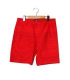 ステューシー STUSSY STUSSY ステューシー ネイティブ柄 ショーツ ショートパンツ 30 red レッド 春夏 /◆