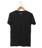 ナンバーナイン NUMBER (N)INE NUMBER (N)INE ナンバーナイン コットン Vネック 半袖 Tシャツ M ブラック 春夏 /◆